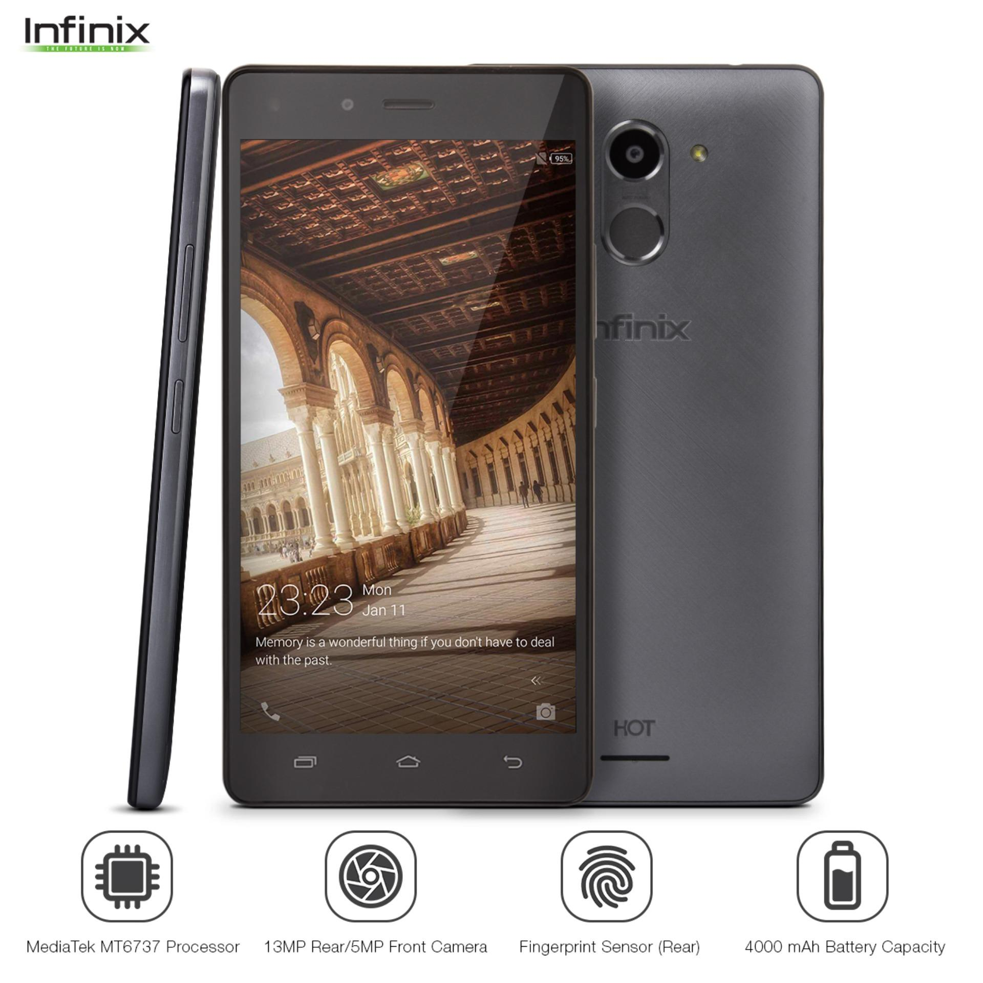 Infinix Philippines Cellphone For Sale Prices Reviews Voucher 3 Gm 2gb Hot 4 Pro X556 16gb Rom Ram Anthracite Gray