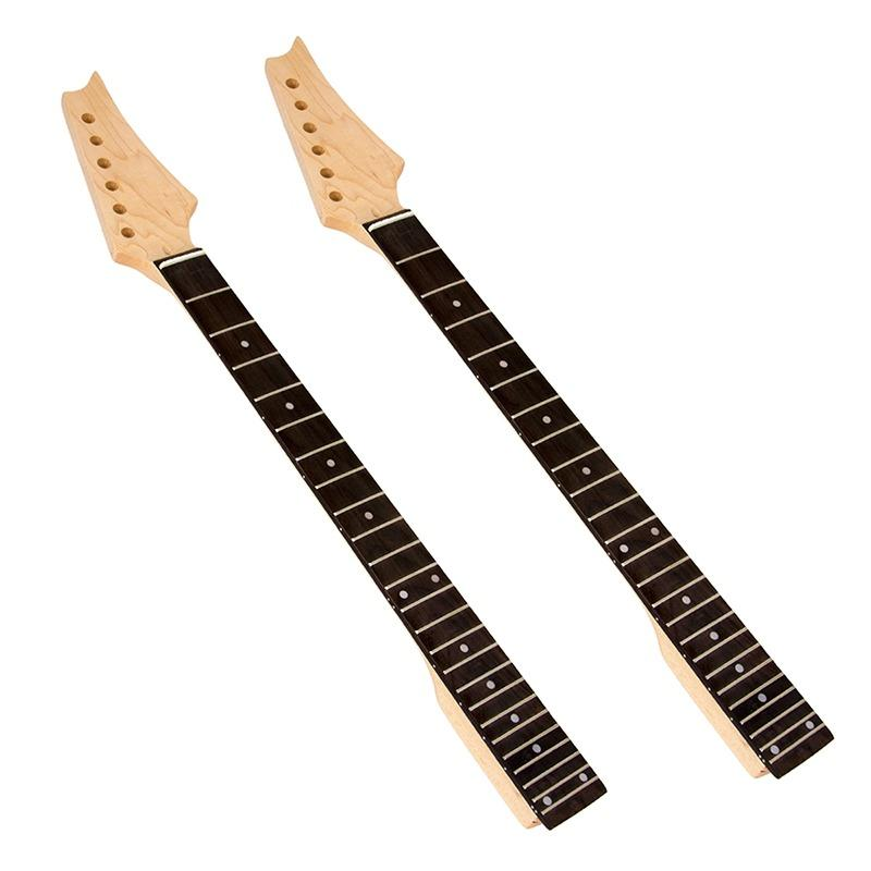 Electric Guitar Neck For Ibanez Maple & Fretboard 24 Frets - intl