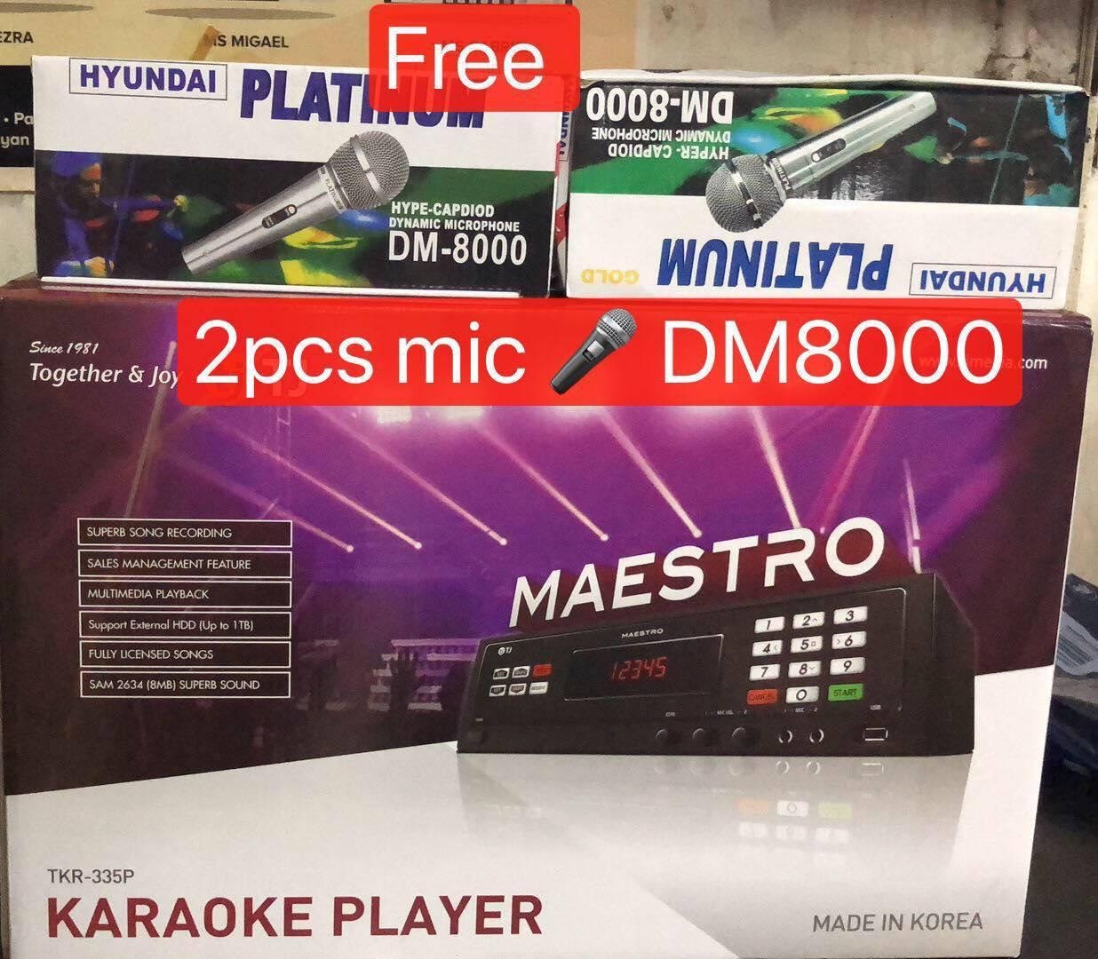 Tj Media Philippines Price List Karaoke Players Starting System Wiring Diagram Tkr 335p Maestro With Built In 16 Gb Sd Card Player