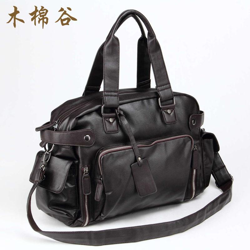 Han Ban Xin style in kapok valley man s hand lifts inclined Ku of travel  bag shoulder c793bb15cf478