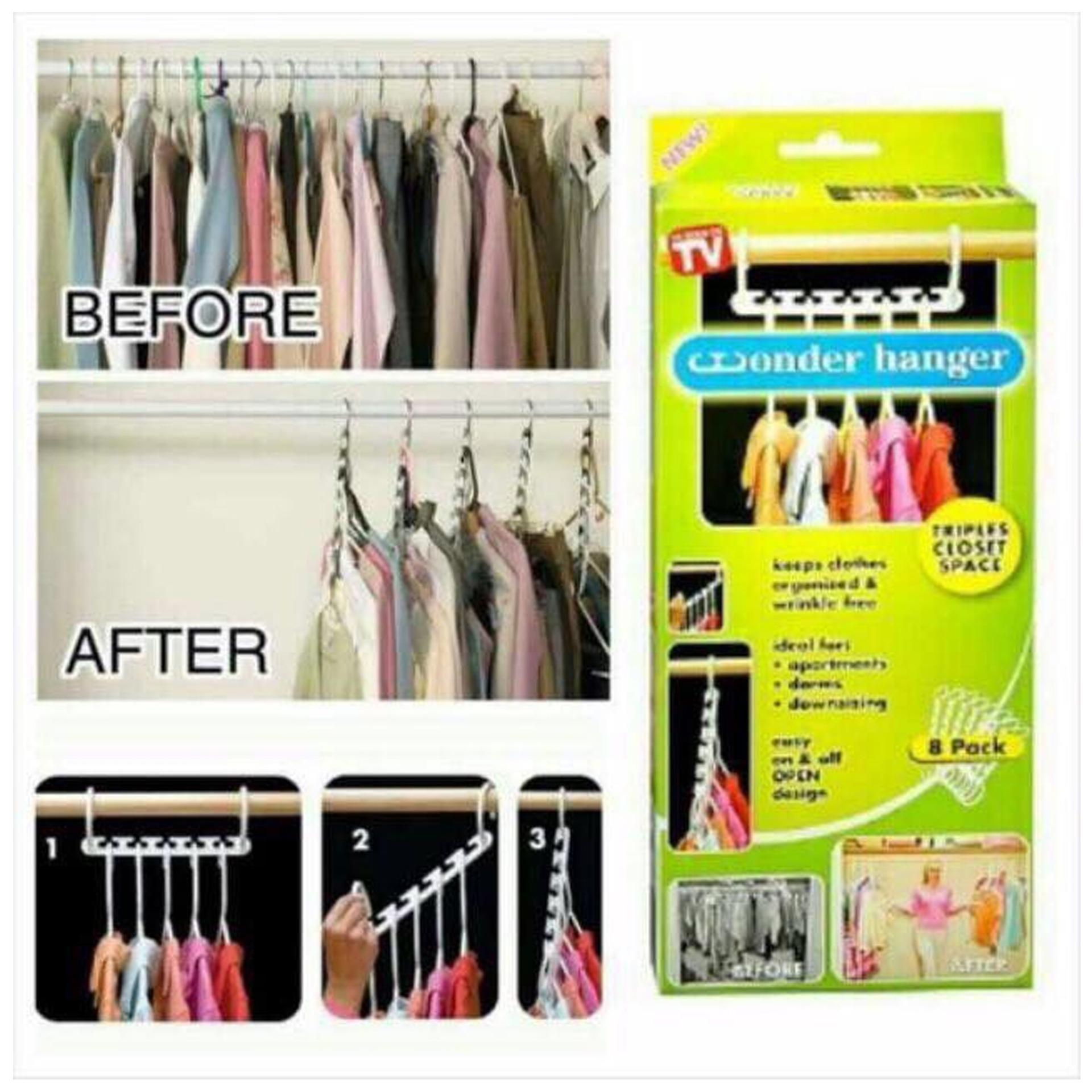 Clothes Hanger For Sale Hangers Prices Brands Review In Miniso Wall Towel Hooks Portable Space Saver Wonder Magic