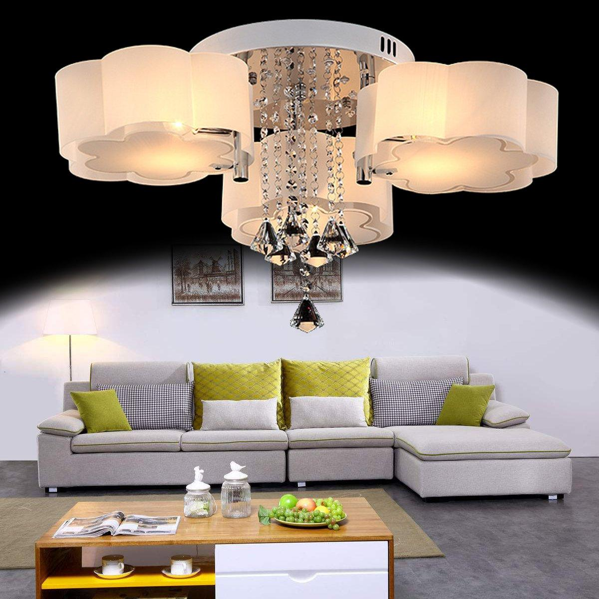 Ceiling Lights For Sale Chandelier Prices Brands Review Room Cage Light Vintage Retro On Wiring Led Modern Crystal Shade Living Bedroom Lobby Pendant Lamp Intl