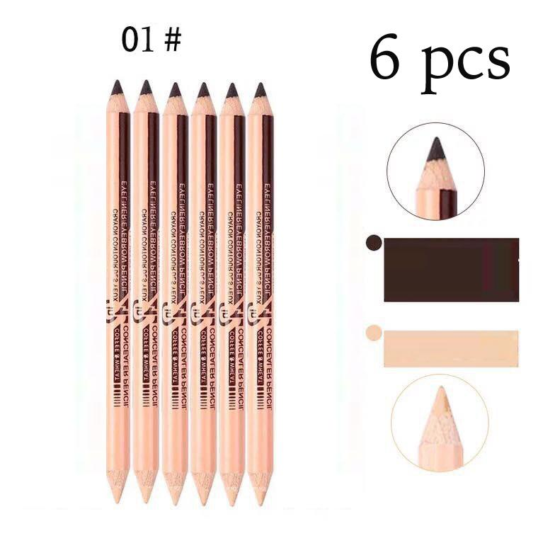 2in1 Eyeliner/Eyebrow and Concealer Pencil (6 pieces) Philippines