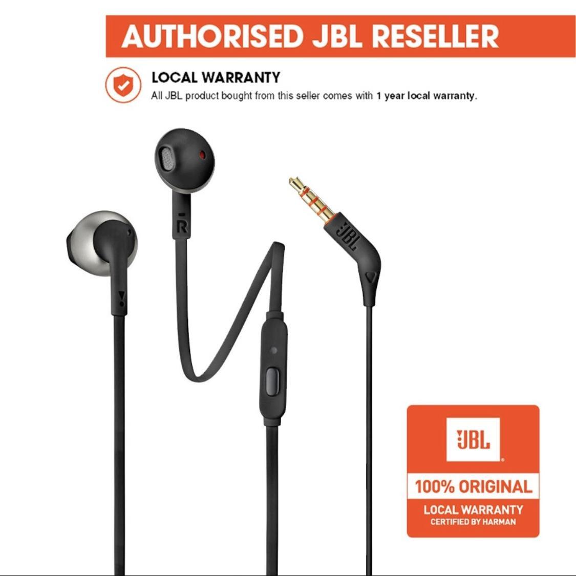 JBL T205 Earbud Headphones