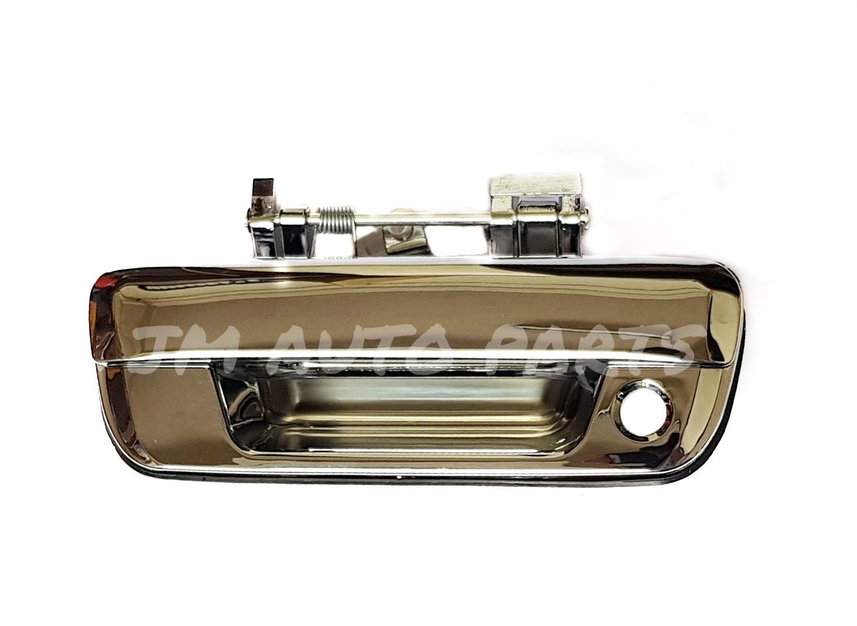 Isuzu Dmax 2002 - 2011 (chrome) Tailgate Handle Tail Gate Handle Backdoor Handle Back Door Handle By Jm Auto Parts.