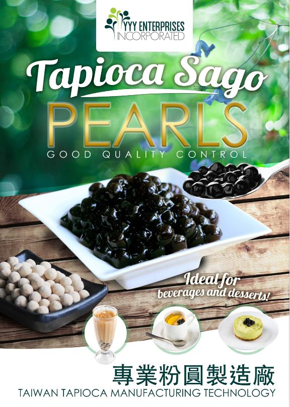 Tapioca Pearl Black Sago