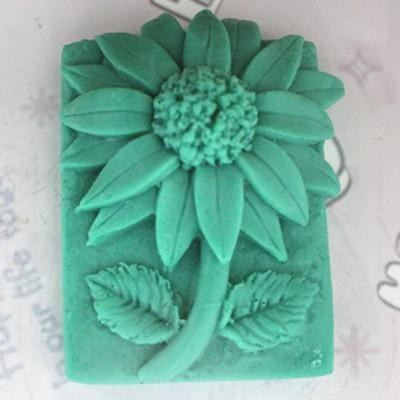 C223 Fat Soap Mold With/handmade Soap Mold/silicone Mould/fragrant Soap Mold/silicone Soap Mold Sunflower By Taobao Collection.
