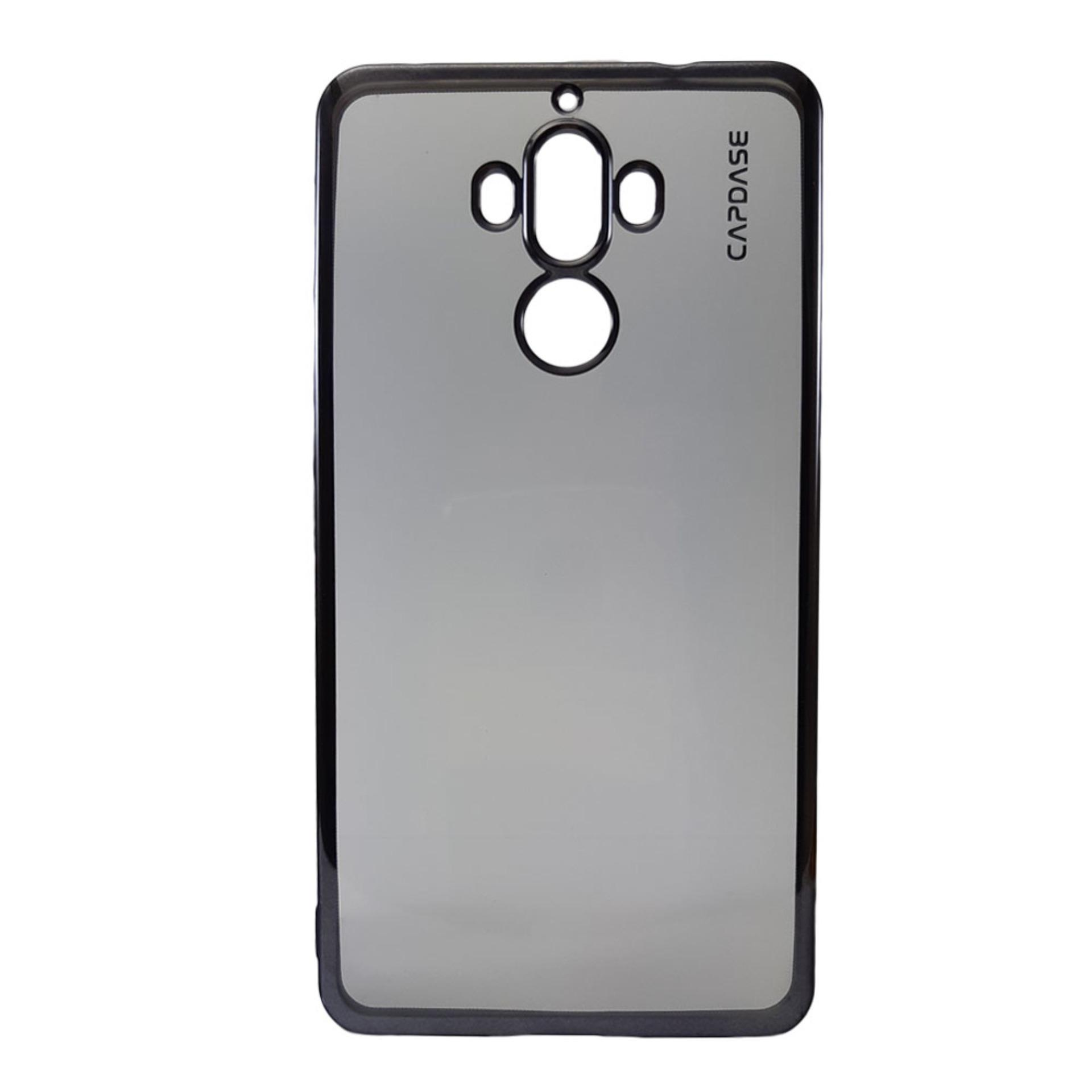 Capdase Verge Soft Jacket for Huawei Mate 9 (Clear Titanium Black)