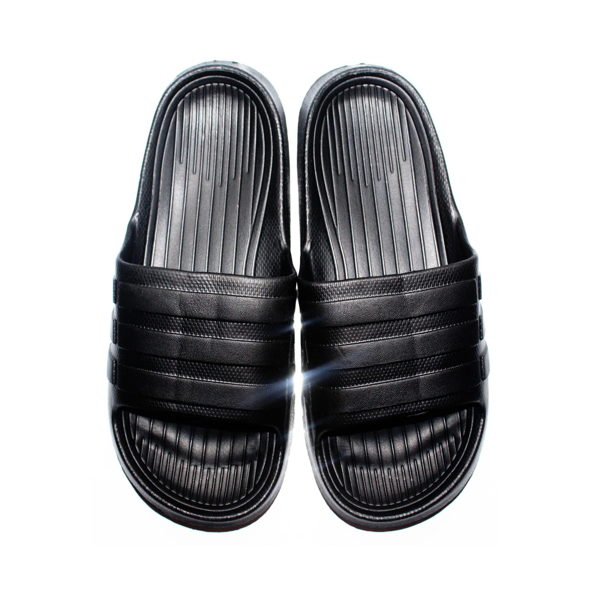 Lancelot Mens Flip Flop Sandals (BLK)