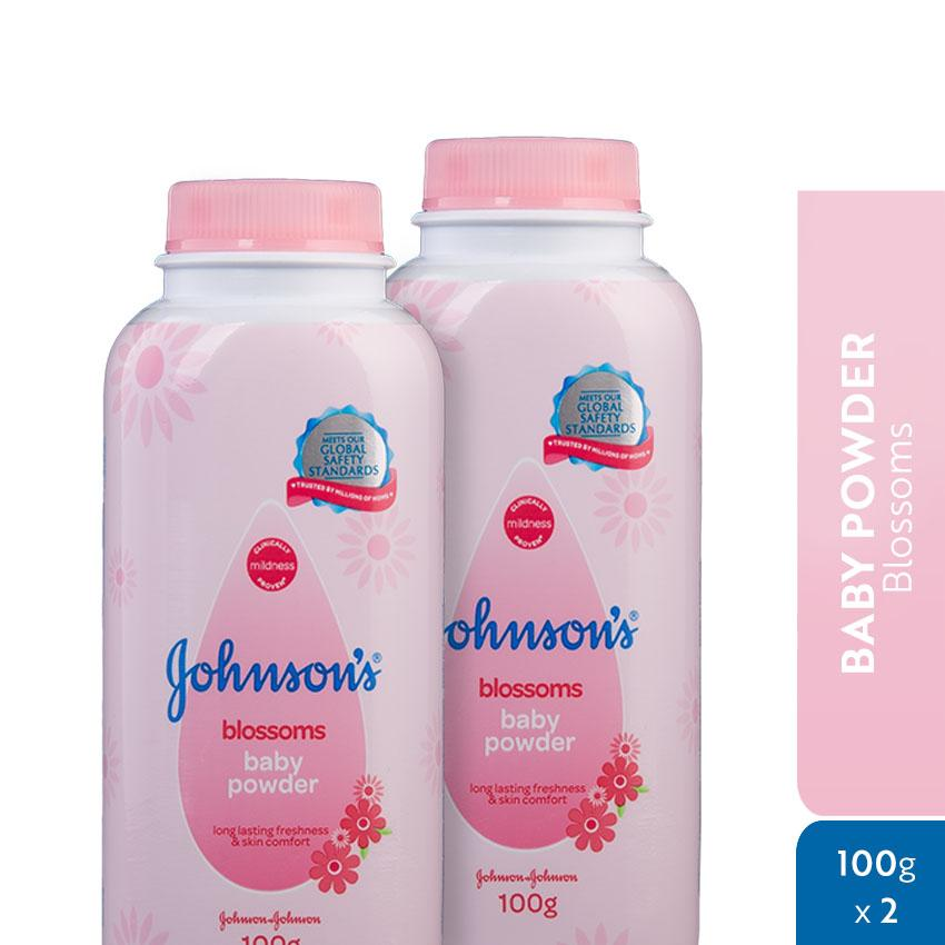 Johnsons Blossoms Baby Powder 100g X 2 By Johnson & Johnson Ph Official Store.