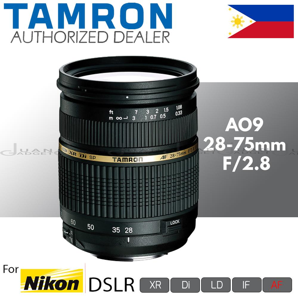 Tamron Philippines Camera Lens For Sale Prices Reviews Canon Sp Af 17 50mm F 28 Xr Di Ii Ld Aspherical If A09 Sp28 75mm Autofocus