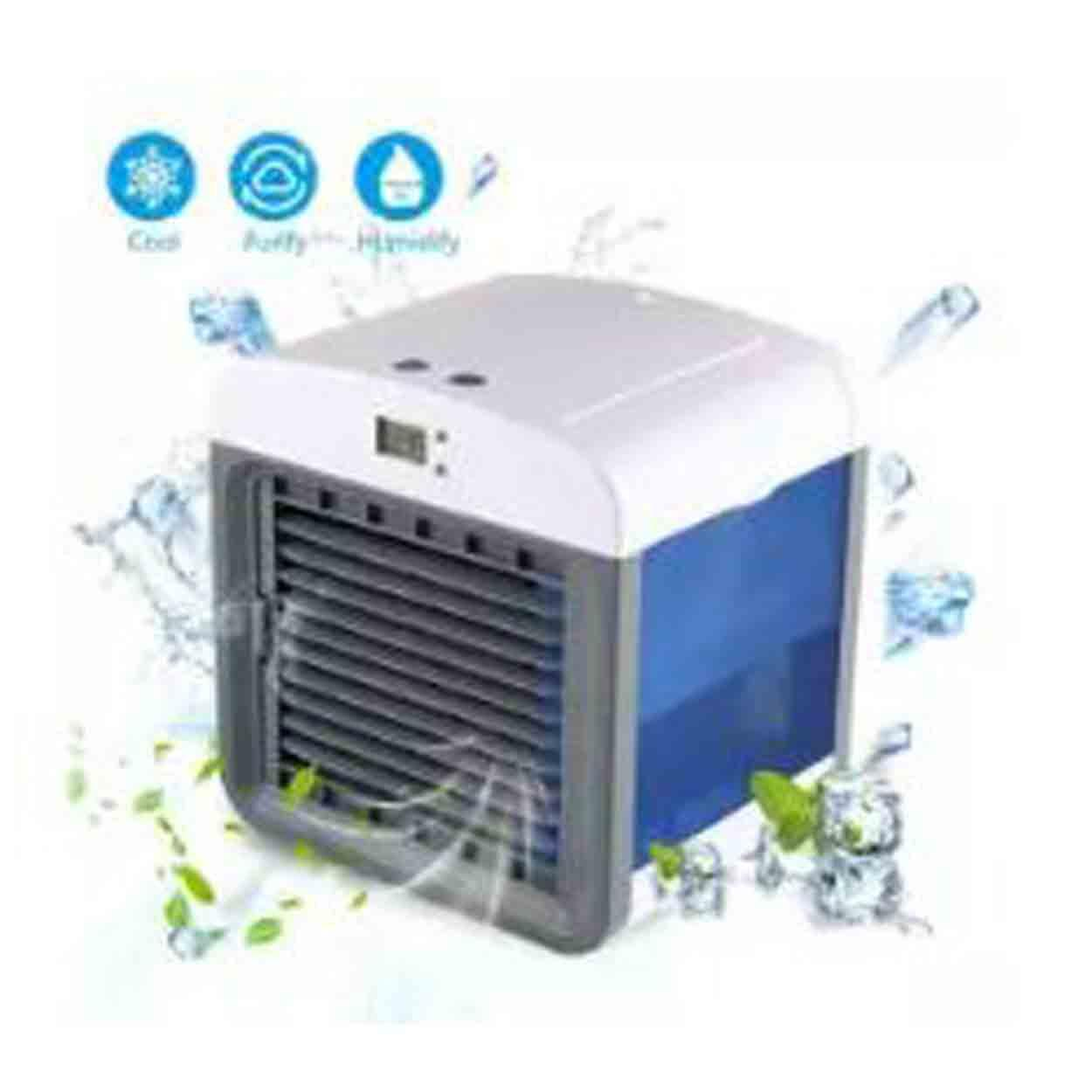 Fortunet Super Waterproof, Personal Space Air Cooler, 3-In-1 Usb Mini Portable Air Conditioner, Humidifier, Purifier, Desktop Cooling Fan Office Home Outdoor Travel By Xzycollection.