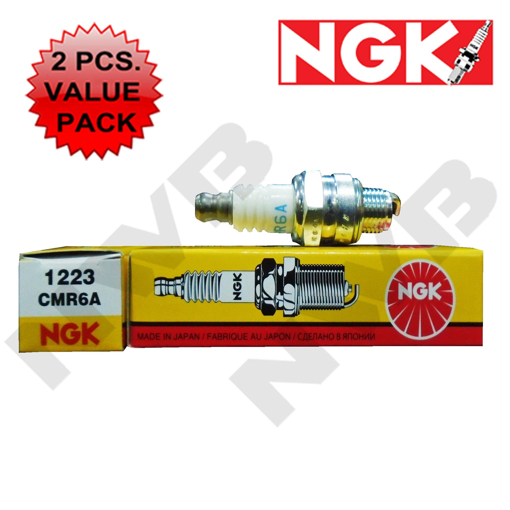 Ngk Cmr6a Spark Plug 2pcs. Value Pack By Nwb Wiper Blade.