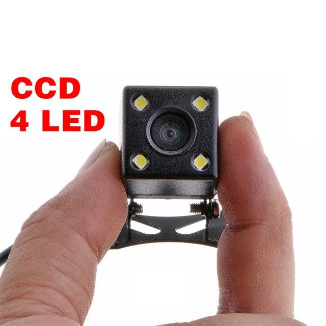 Hd Ccd Waterproof 4 Led Night Vision Car Rear View Camera 170 Wide View Angle Backup Parking Universal Parktronik Auto Styling By Usje Trading.