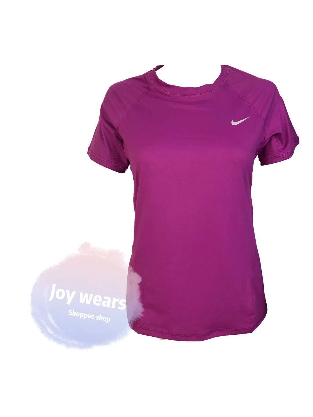 Nw.2808n Ike Short Sleeve Athletic Dry Fit Shirt For Women By Joy Wears.