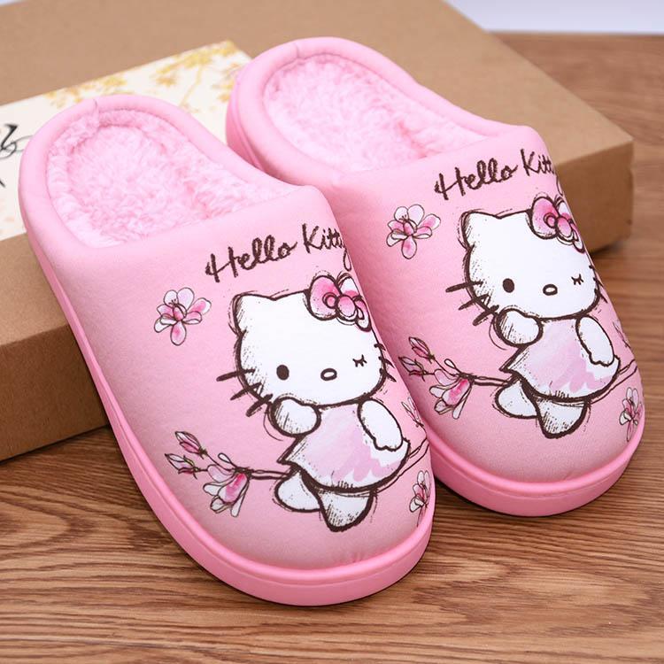 Hello Kitty Children's Cotton Slippers