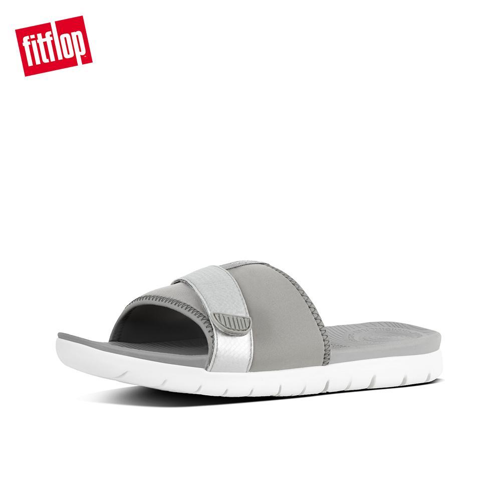 e4ee5b07 Fitflop Women's Sandals K68 NEOFLEX SLIDE SANDALS TEXTILE/PU ATHLEISURE  lightweight comfort fashion New