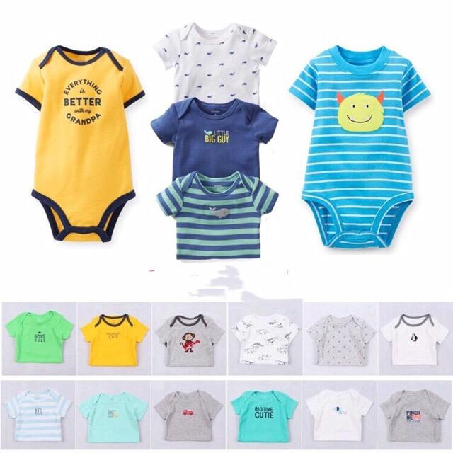 7e97c864d3 BRANDED or CARTER S romper onesie bodysuits boys(randomly given)sold by each