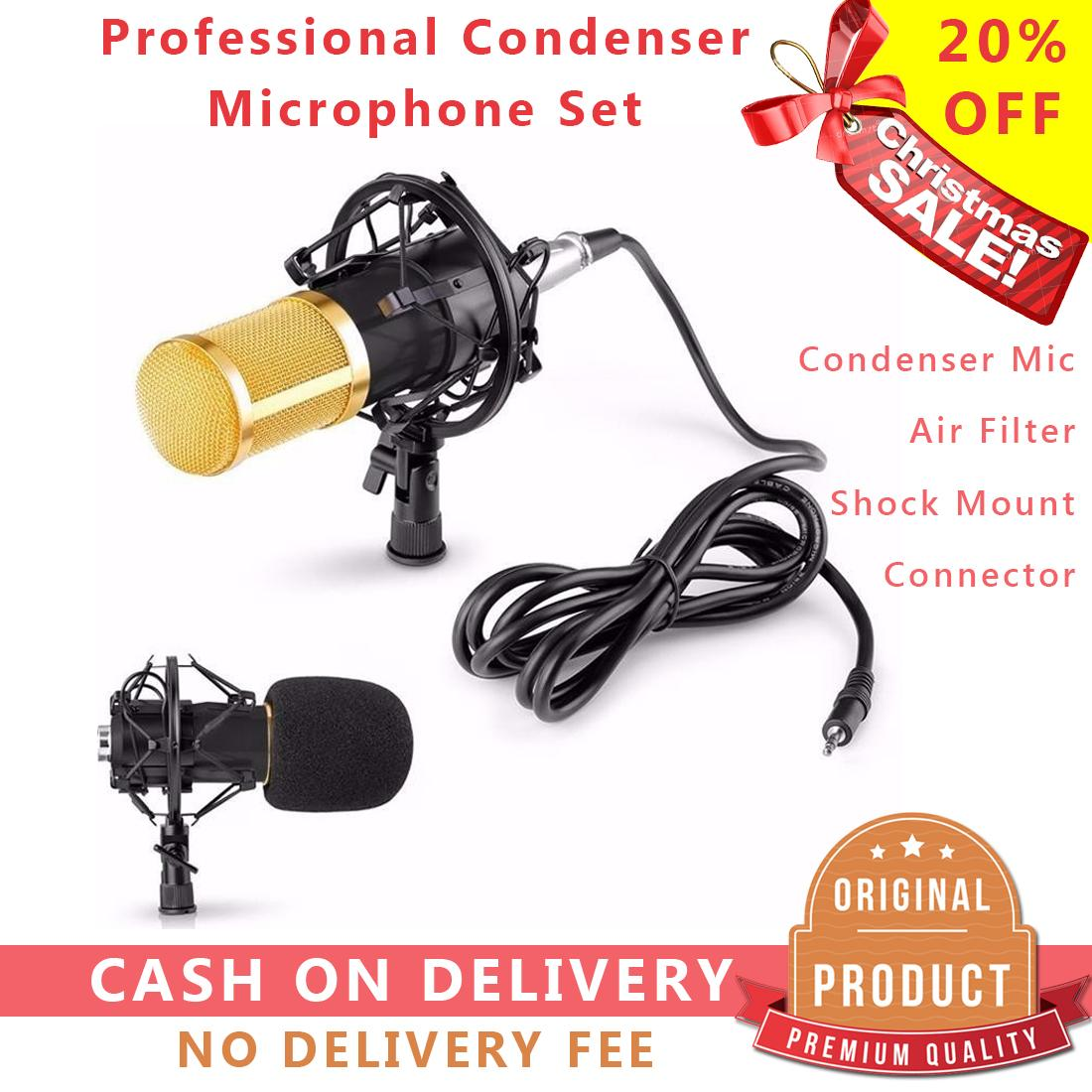 Wireless Mic For Sale Microphone Prices Brands Specs Echo Mics Cb Radio Wiring Condenser Bm 800 Voice Music Studio Recording Shoutcasting Vlog Singing Streaming Broadcasting Karaoke
