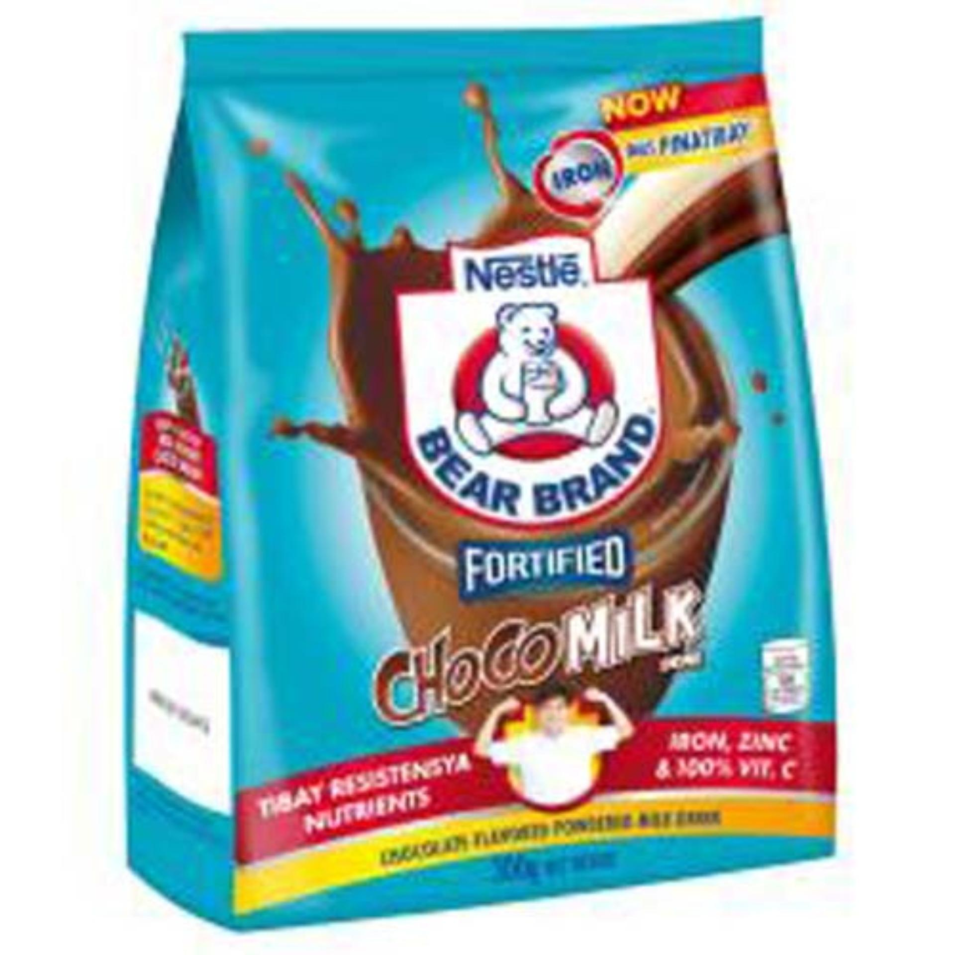 Bear Brand Choco Milk Drink 300g (pack Of 2) By Nestle Official Store.
