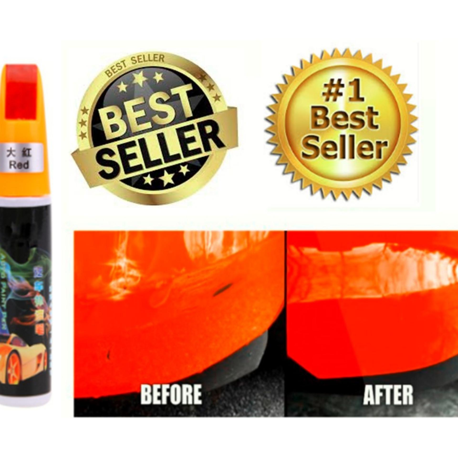 Car / Motor (red ) Touch Up Paint For Deep Scratches By Golden Fortune Corp..