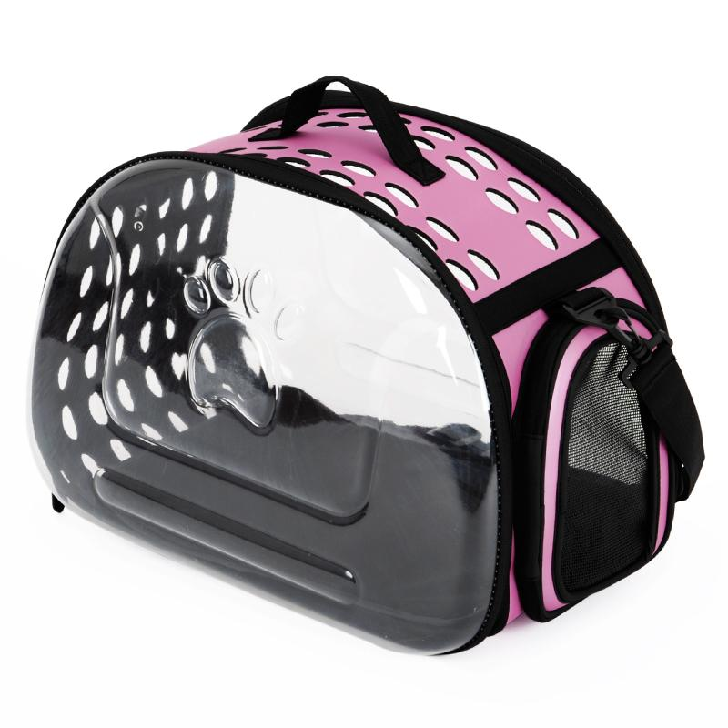 bda4f1a251 Transparent PET Carrier out Carrying Case Space Cat for Cat Cage bag bags  tidy cats Cabin