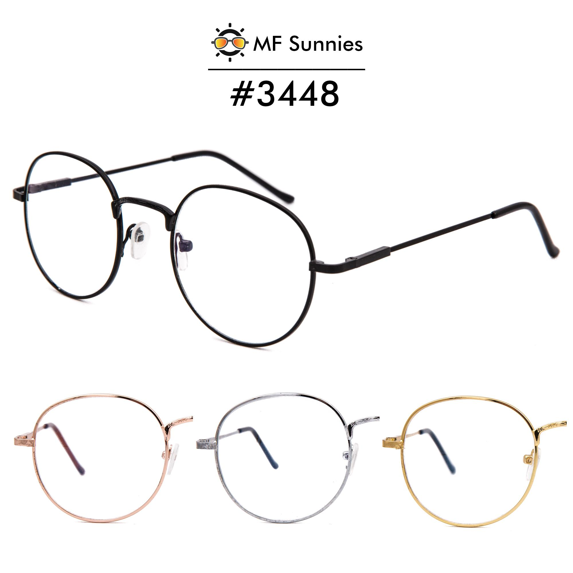 b9ef6aa504d MFSunnies Anti Radiation Blue Light Retro Full Metal Frame Optical Eyewear   3448