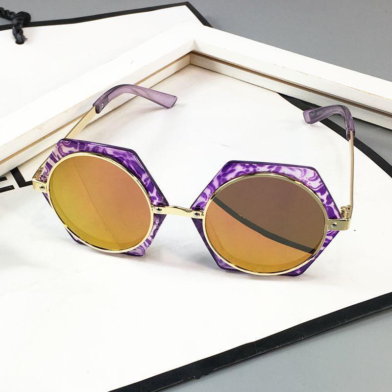 26cbb9d8f814 New Style 2018 South Korea Children Sun Glasses boy men Cool Fashion  Glasses Sunglasses Baby women