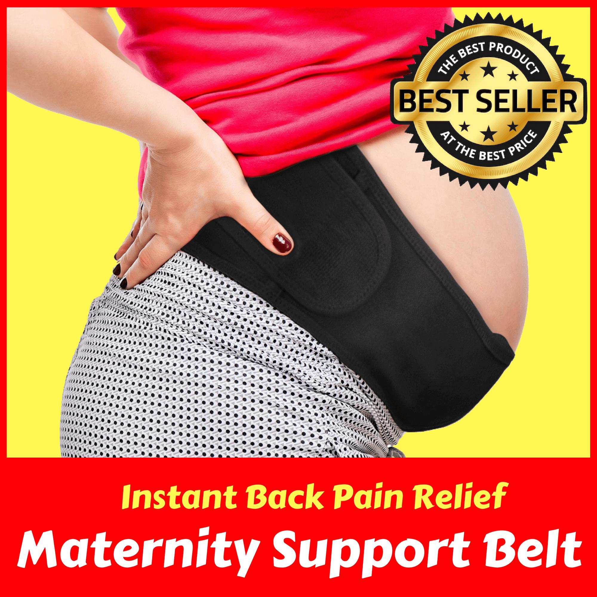 Pregnancy Support Belt Maternity Belt Belly Band For Back, Pelvic, Hip, Abdomen, Sciatica Pain Relief By Noypi Creations.