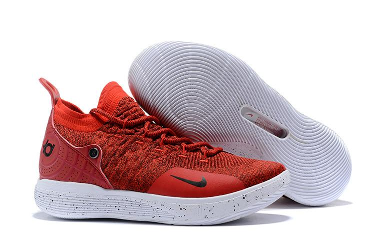 info for b50fb 1c8d4 Nike Official Kevin Durant 11 Red White Sport MEN Basketaball Shoe KD Hot  Punch