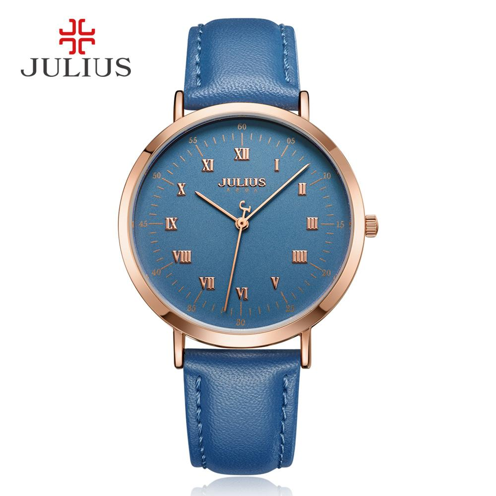 8915645f4 Julius Flagship Store Korean Style Fashion Big Dial Waterproof Belt women watch  watches Men s watch watches