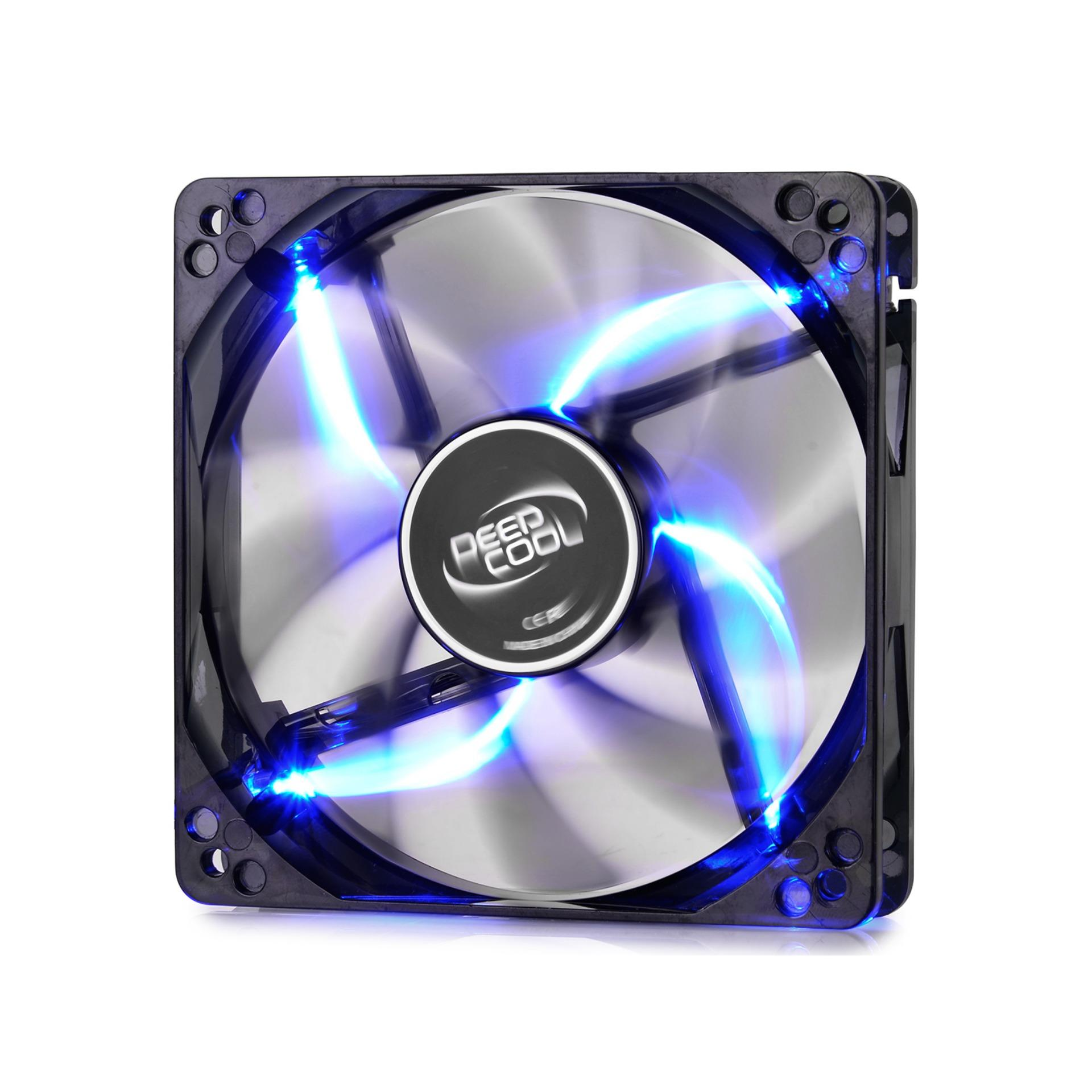 Deepcool Wind Blade 120mm Blue Led Fan By Easypc.
