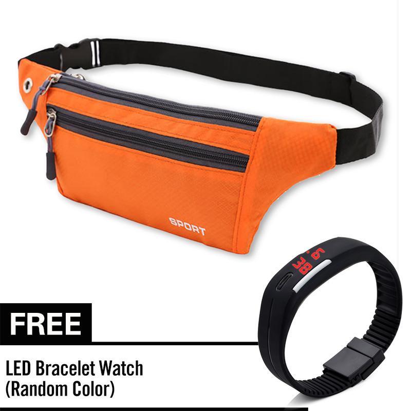 b1d6dbc471 Casual Pack Sports Waterproof Running Bags men women Purse Pocket Mobile  Phone Belt Case Touch Screen