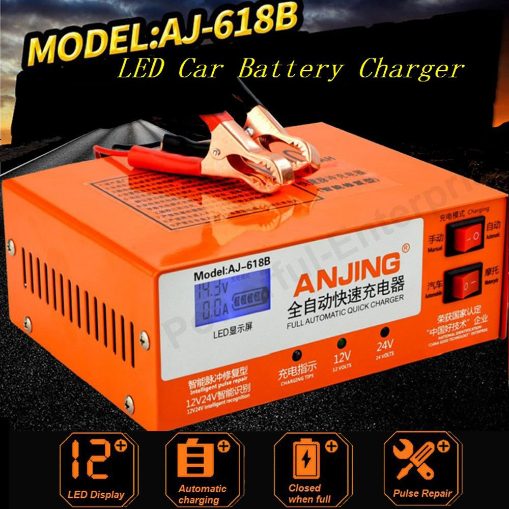 Car Battery Charger For Sale Jump Starter Online Brands Prices Batteries Leadacid Circuit Electrical Engineering Original Aj 618b Intelligent Pulse Repair Charging Motorcycle Storage