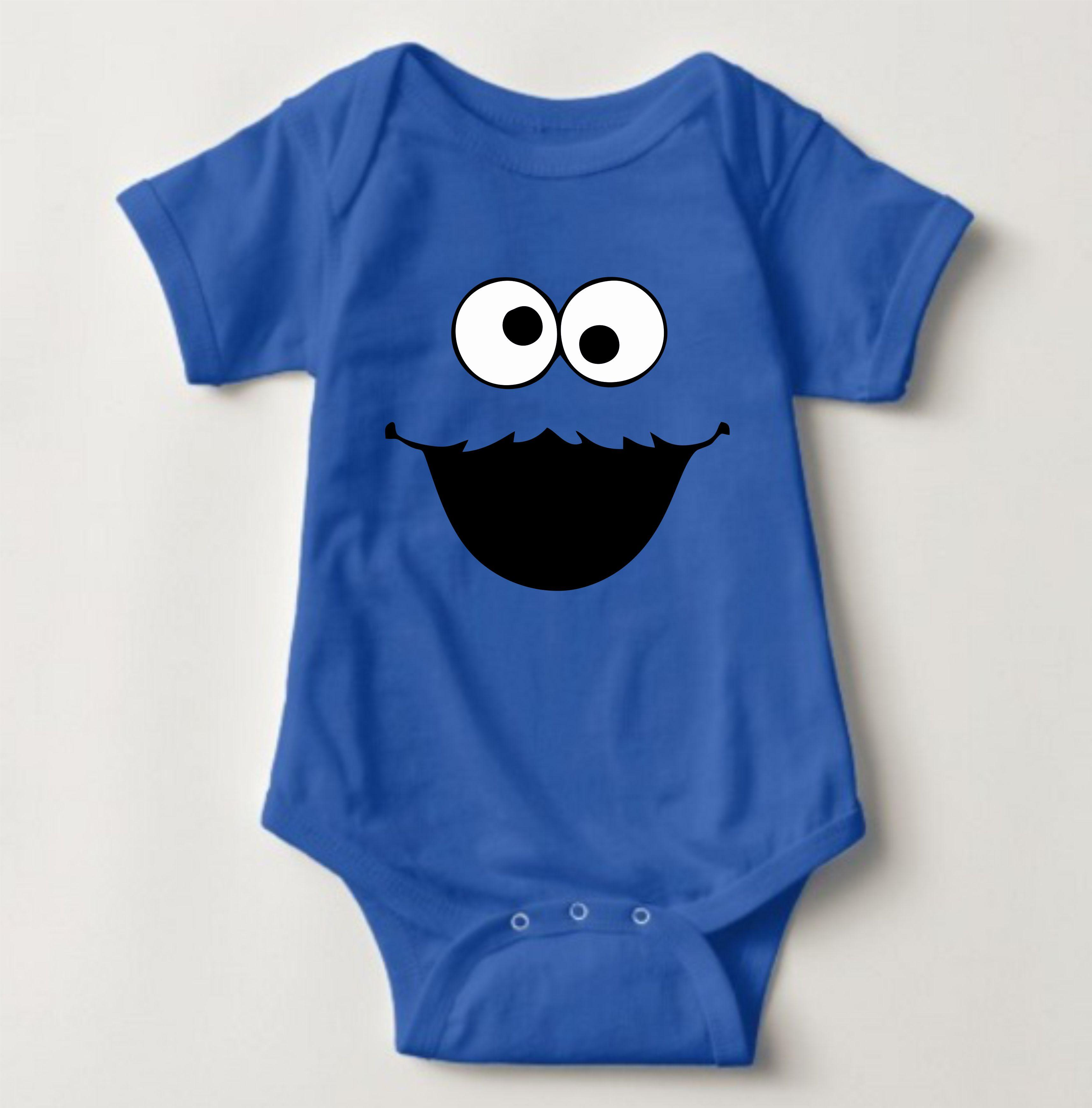 222459e28cc0 Baby Character Onesies - Sesame Street Cookie Monster