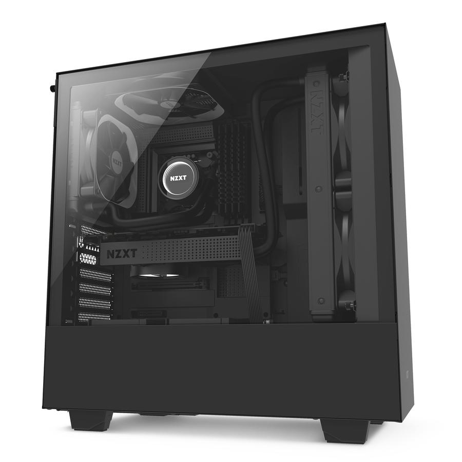 Computer Cabinets For Sale Pc Cases Prices Brands Specs In Tower Parts Diagram Images Name Nzxt H500 Mid Case Black