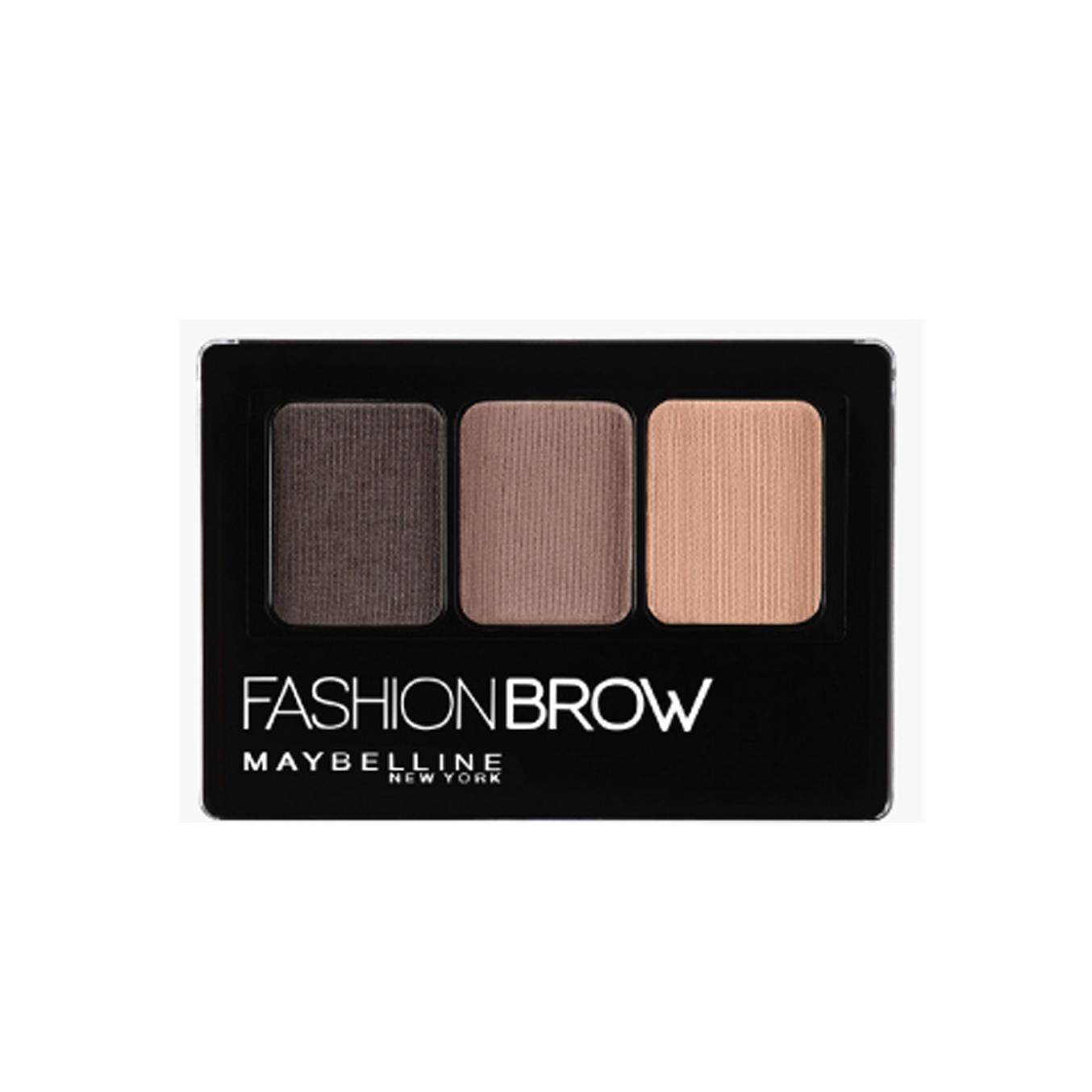 Maybelline Fashion Brow Palette (Dark Brown) Philippines
