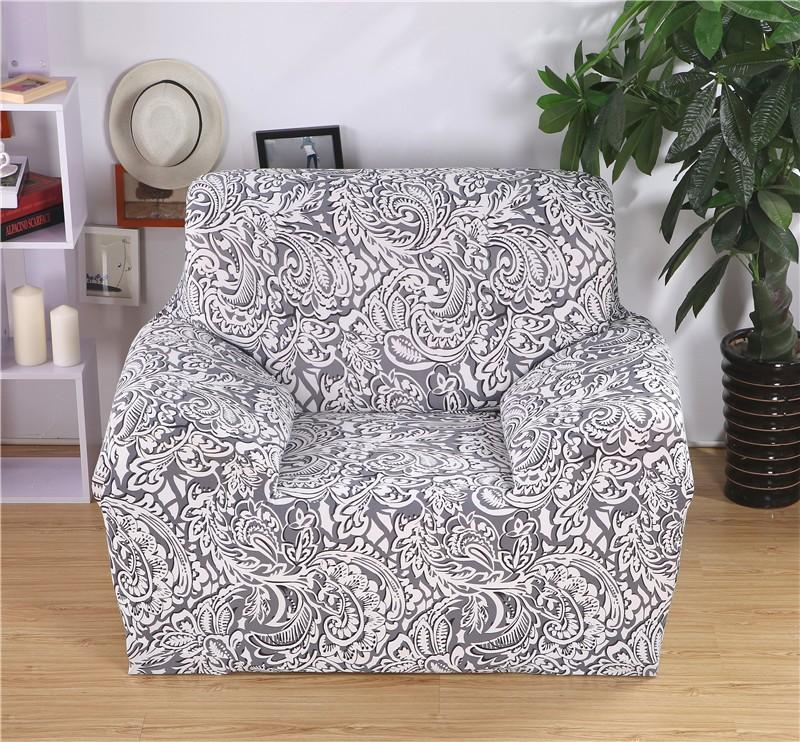 Printed Sofa Cover Slipcovers for 1 Seater d395452d07