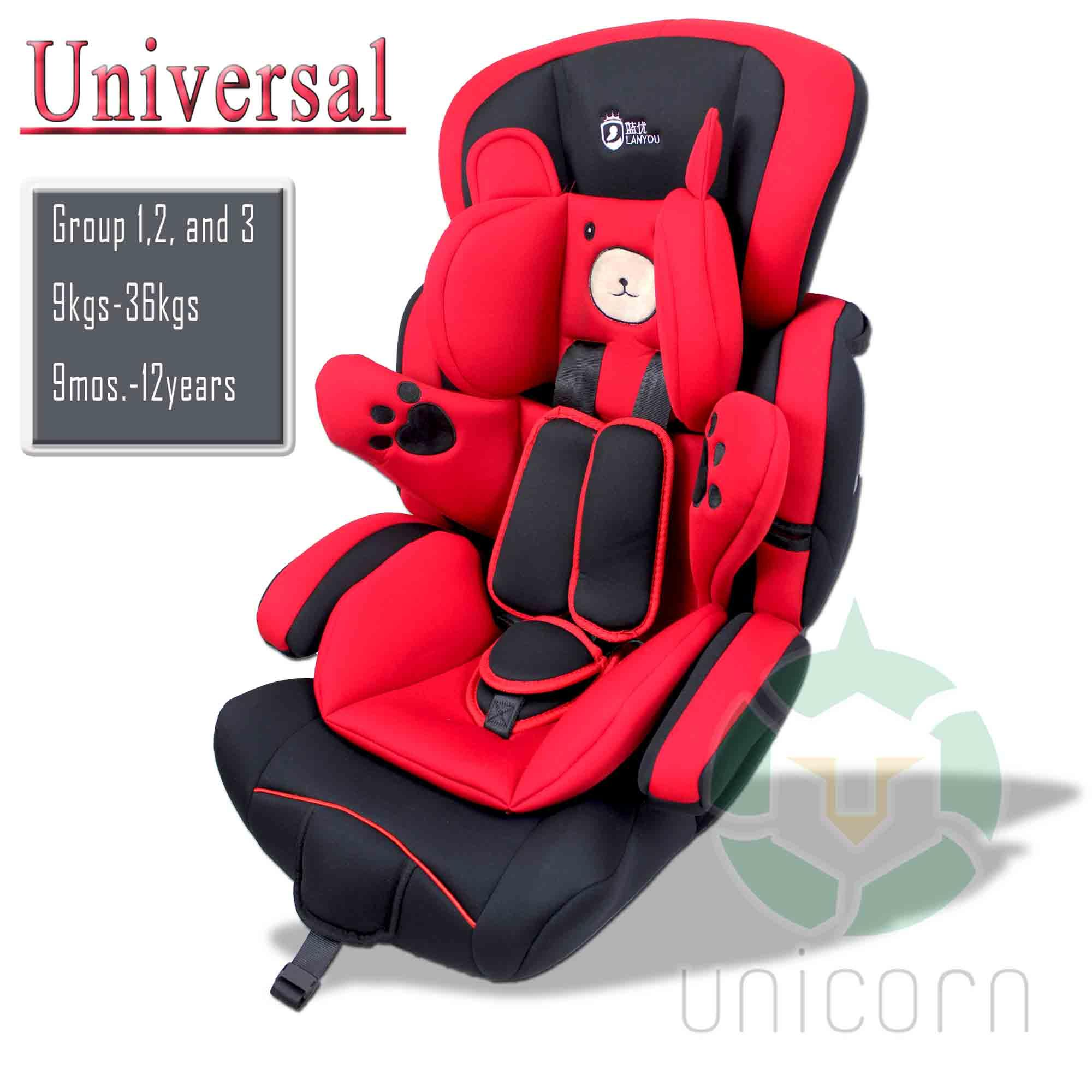 82061800a Lanyou BXS-208 Universal Bear Hug Comfort and Safety Baby Car Booster  Infant Car Seat