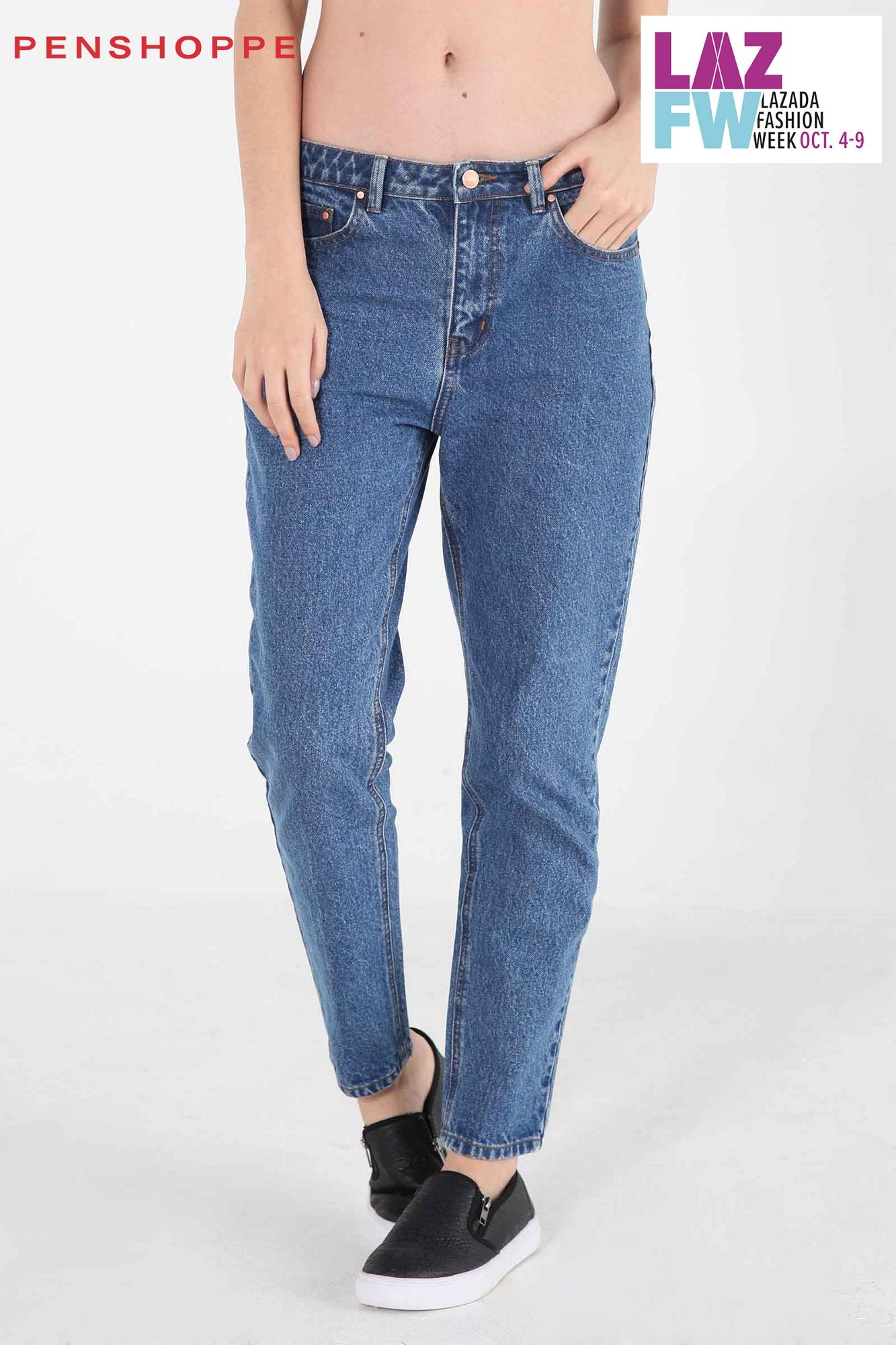 Penshoppe Jeans For Women Philippines Fashion Vintage Skin Rip Off Stretch Soft Slim In Stone Wash Blue