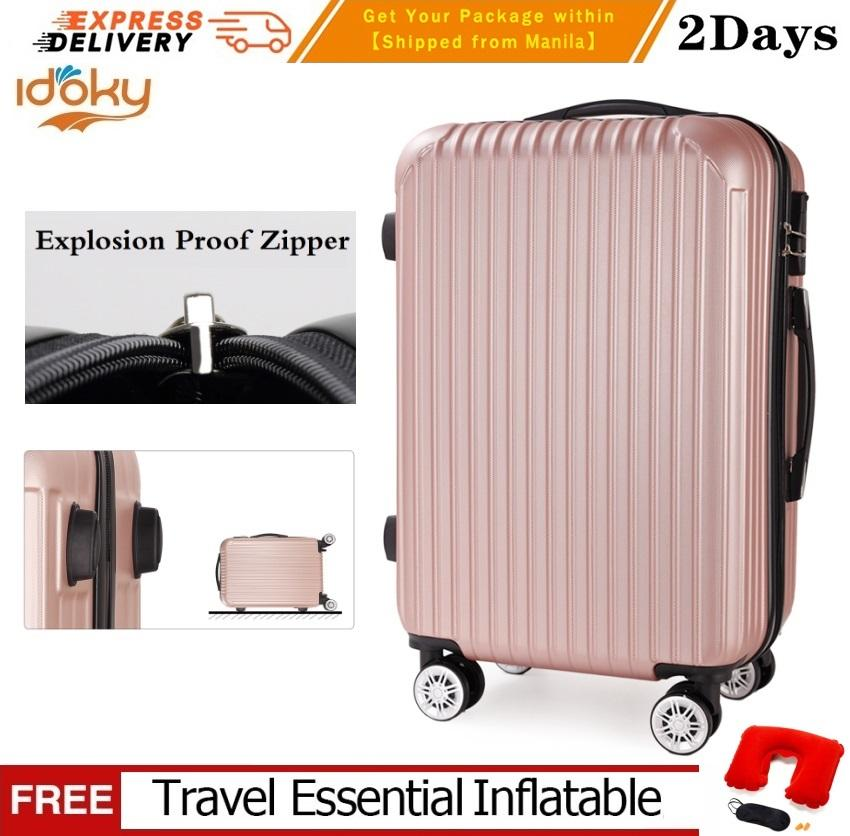 ac054840ac Idoky PH502 Popular 24 Inch Suitcase With Explosion Proof Zipper Hard Case  Luggage