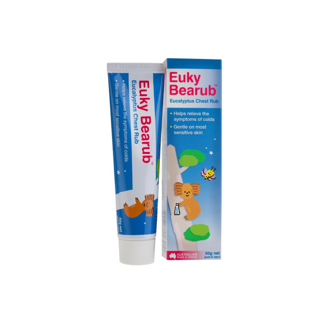 Euky Bearub For Colds, Muscle Pain And Insect Bites (50grams) By Koofty Enterprise.