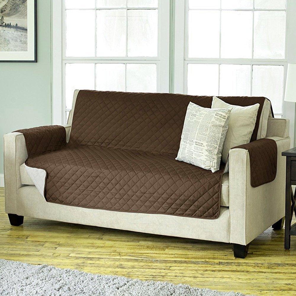Couch Coat Reversible Sofa Cover(Double Seat)