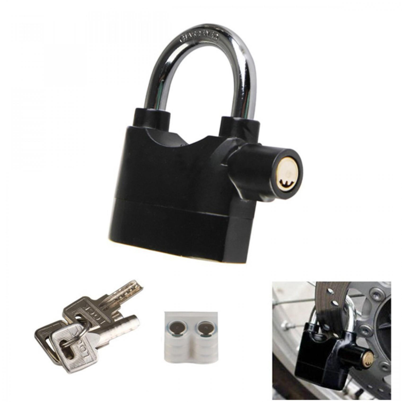 ABS_ABSL Alarm Lock Padlock for Door/Motor/Bike/Car 110db Anti-Theft