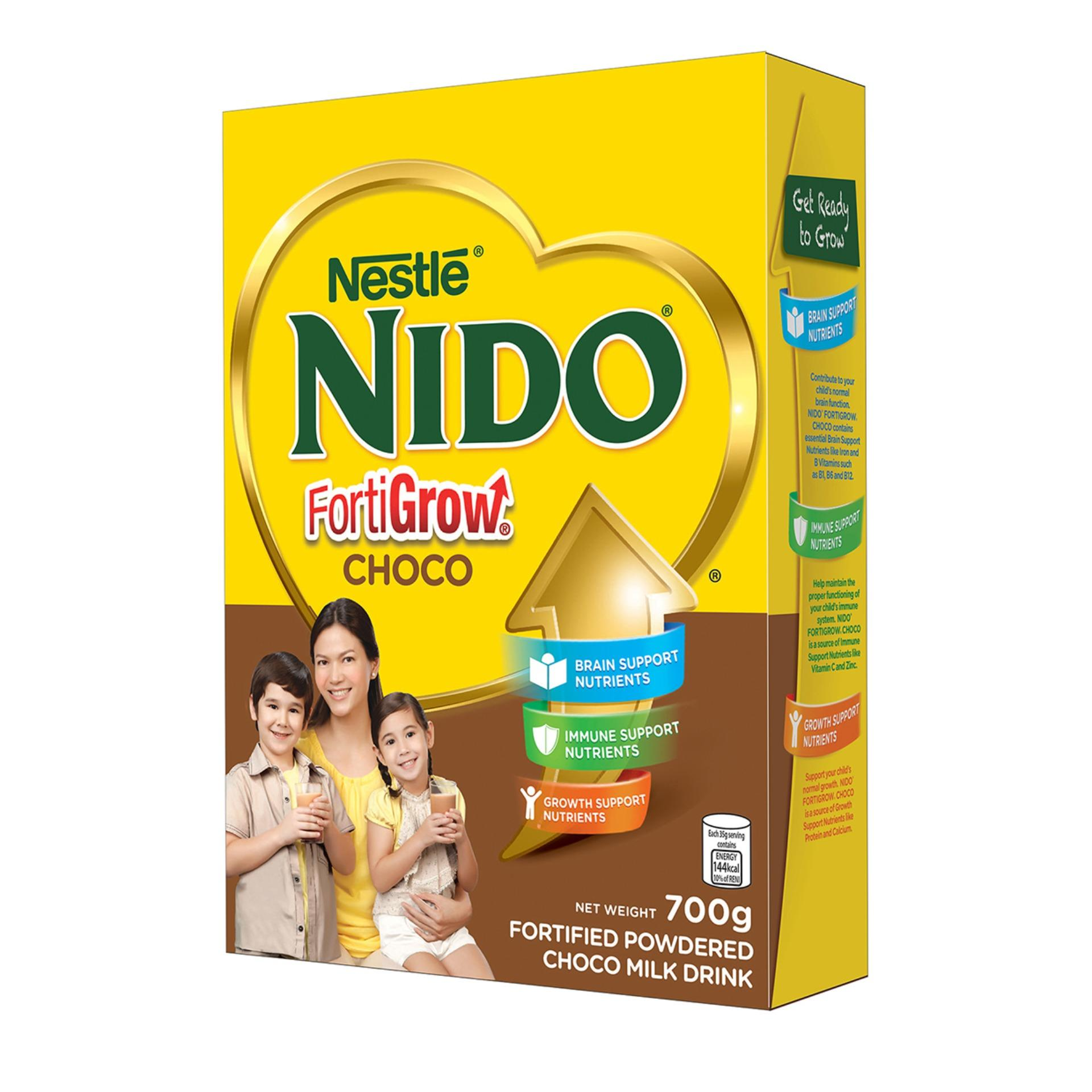 Nido Forti-Choco 700g By Nestle Official Store.