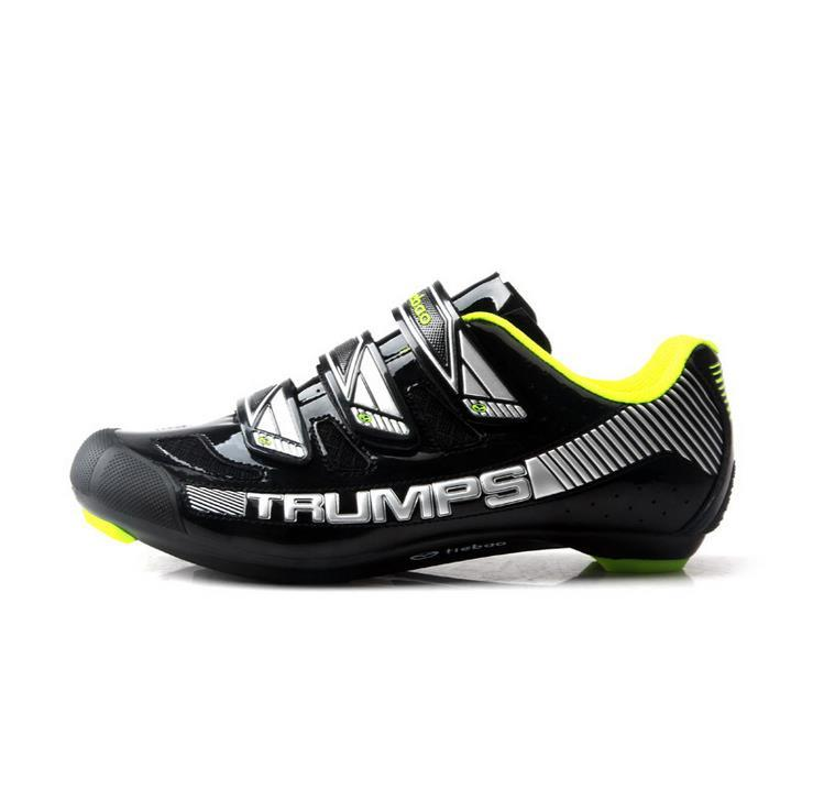 2017 New Style Tiebao Mountain Bike Road Bike Riding Shoes Bike Lock Shoes Breathable Self-Locking Ride Bike Shoes By Taobao Collection.