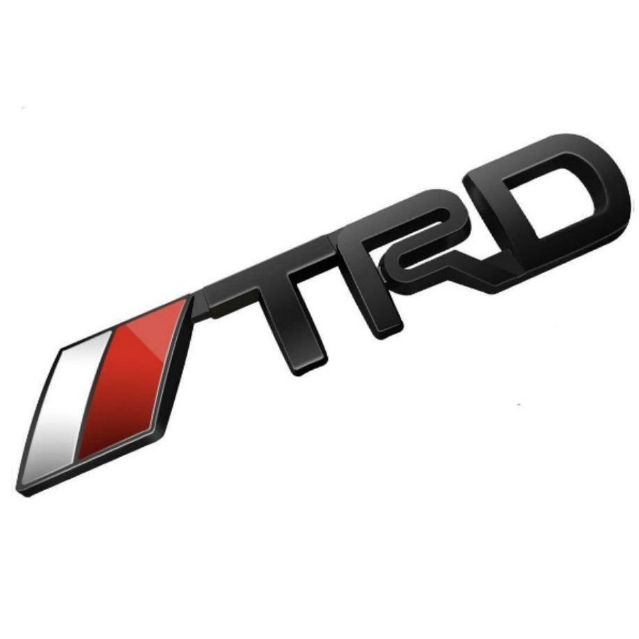 3d Metal Toyota Racing Development Trd Body Side Emblem Sticker Decal Badge Logo By Powerful-Enterprise.