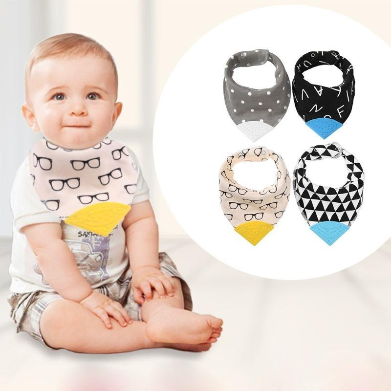 Baby Penguin Ception Teething Waterproof Bib