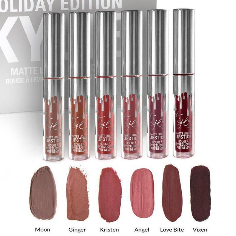 KYLIE MATTE LIQUID LIPSTICS EDITION 6 SHADES *CRAZYDAY