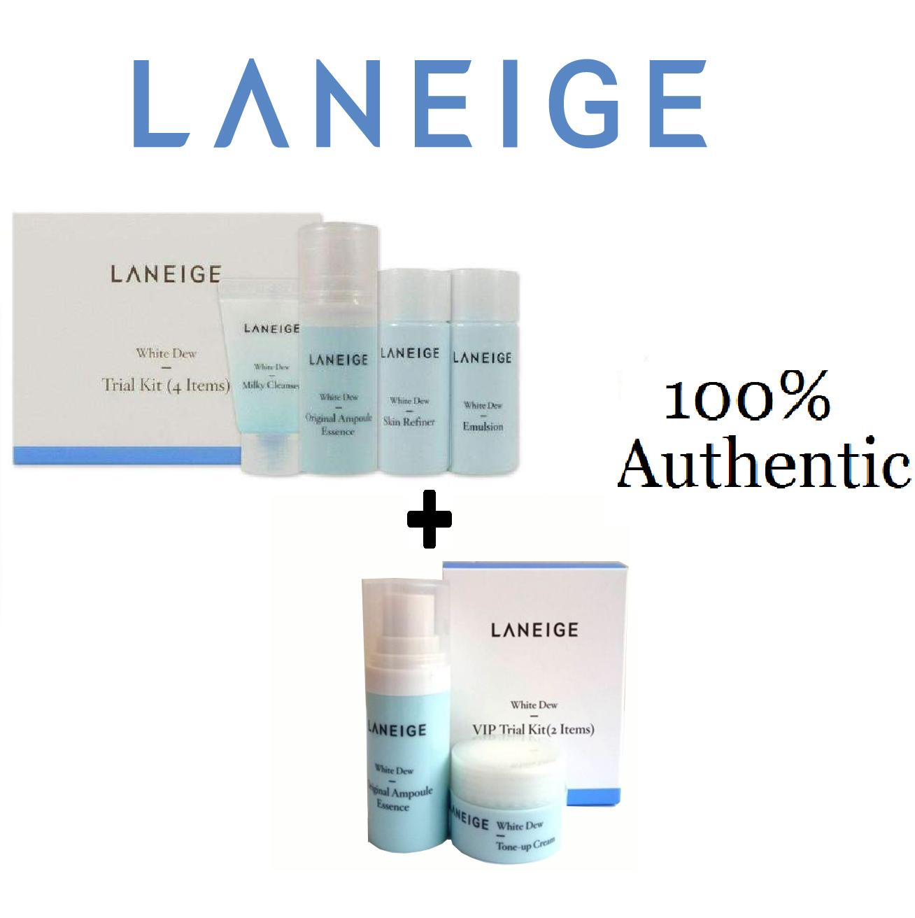 Sell Laneige Travel Cheapest Best Quality Ph Store White Plus Renew Trial Kit 4 Items Php 699 Dew 4items